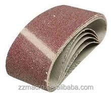 Abrasive Disc Type abrasive emery cloth sanding belt for grinding metal