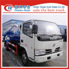 china 5000L new condition vacuum pump sewage suction truck/cleaning truck sale