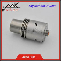 Alibaba express 2015 e cigarette new product mechnical mod 1:1 clone alien rda from MKstar