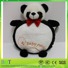 cute panda chair cushion, stuffed panda toy, super soft cushions for baby