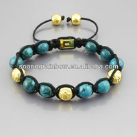 shamballa bead bracelets with stones