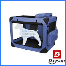 Soft Dog Cage Tote Kennel Deluxe Portable Dog Cage Dog House for sale