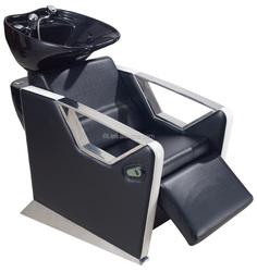 Black Lay Down Washing Salon Shampoo Chair