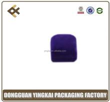 hot selling custom velvet pendant gift packing box