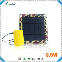 hottest selling 3.5W solar charger bag with usb for digital devices from factory