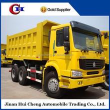 China supplier best brand 6x4 howo Dump Truck