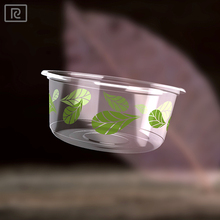 R-360 ml 12 oz disposable plastic container food for salad fruit vegetable