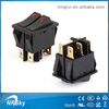 2015 dpdt electrical rocker switches for electric fireplace