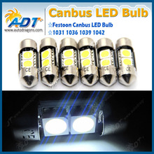 Best-selling Festoon 28MM No Error Canbus LED Lighting Bulb G35 EG for Toyota for Lexus