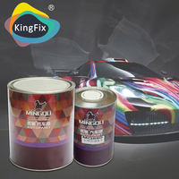 solid colors outstanding weathering resistance matte grey car paint with very accurate color matching