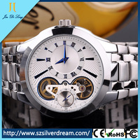 Stainless steel band luxury watch japanese moves free on line