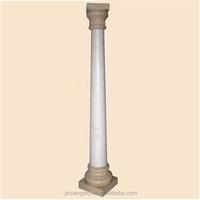 2015 new type natural stone wedding stage pillars