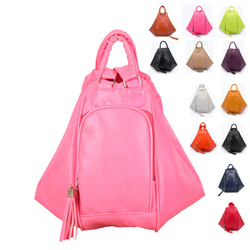 VT375 2015 New arrival Lichee pattern double use travel school bag girl