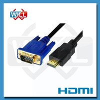 High quality 1080P high speed 1.4v hdmi to vga cable