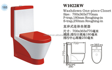 Ethiopia Most hotsale promotion price ceramic Black/red/Yellow/Orange/Green color toilet