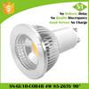 High quality CE ROHS Epistar COB Isolated driver 80lm/w 4W led gu10