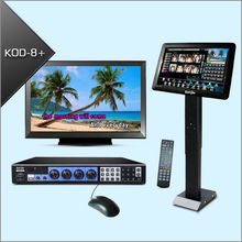 Professional Touch Screen HDD Karaoke Player Supports HDMI Output