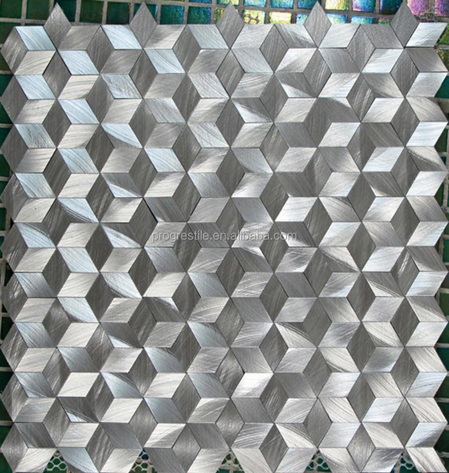 2015 nouvelle maison moderne design 3d diamant aluminium - Mosaique moderne design ...