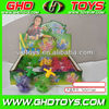 wholesale transparent plastic spinning light top toys