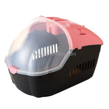 pet carrier plastic pet travel box dog or cat carrier
