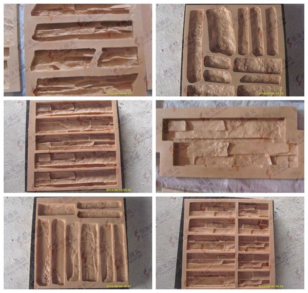 Artificial Stone Wall Molds Customized Exterior Wall
