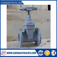 2015 supply cheap DN50 flanged 41H-16C Cuniform WCB casting steel gate valve