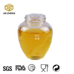 sealed round 300ml glass cake dome cover factory