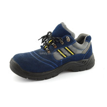 Feet protective CE EN 20 345 genuine suede leather safety work anti slip shoes