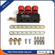 cng motorcycle injector rail kit