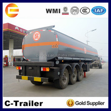 3axles 5000Liters oil tanker truck trailer with good quality