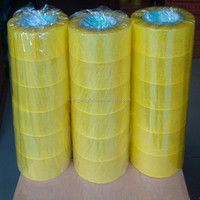 Brown Transparent BOPP Scotch Adhesive Tape for packing carton