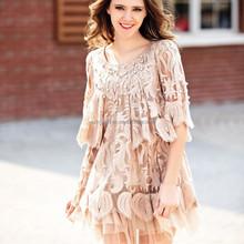 New Ladies Dresses For Women Swing Hem Latest Lady Fashion Dress Design