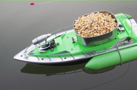 ловля рыбы радиоуправляемым