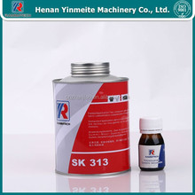 rubber belt cold repair splicing adhesive glue cement SK313,flame-resistant