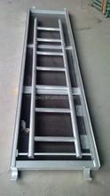 aluminium ladder plank with plywood deck