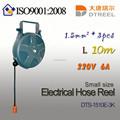1.5mm2 3 piezas l 10m 220v6a swtich dts-1510e-3k tipo interruptor de alimentación