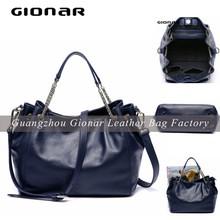 Famous Brand Top Layer Leather Quality Designer Handbag Wholesale Purse and Handbags