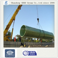 GRAD 3000mm fiberglass plastic pipe for water supply