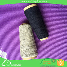 Eco friendly 50% cotton 50% polyester polyester twisted yarn for towel