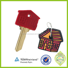 Widely varieties fashion Latest Design 3d pvc key holders