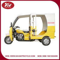 Hot selling fashion made in China tricycle closed cabin passenger motorcycle/tricycles taxi