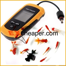 Fish Finder Portable Sonar LCD Fishing Finder Alarm