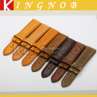 OEM Customize Calf Italian Leather Watch Band Interchangeable Function with Quick Release Spring Bar18mm 20mm 22mm Watch Strap
