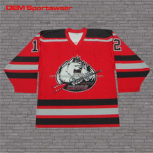 New design customised canada hockey league jersey