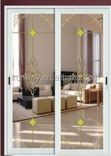 Single Panel Double Glazed PVC Sliding Door