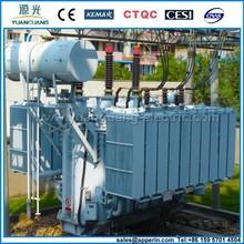 3 phase 1300kva toroidal transformer with transformer oil and transformer bushing