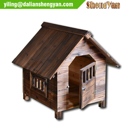 Rustic and simple dog kennel buildings