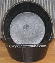 di gomma di pneumatici riciclati vasche mangiatoia vasca di gomma contenitore in gomma con ganci