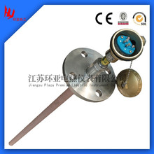 Pt-Rh B/R/S type thermocouple with transmitter