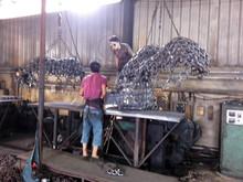 KAWASAKI KLD85Z Bulldozer tyre protection chains
